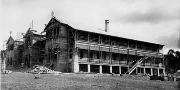 Mount St Bernard College under construction